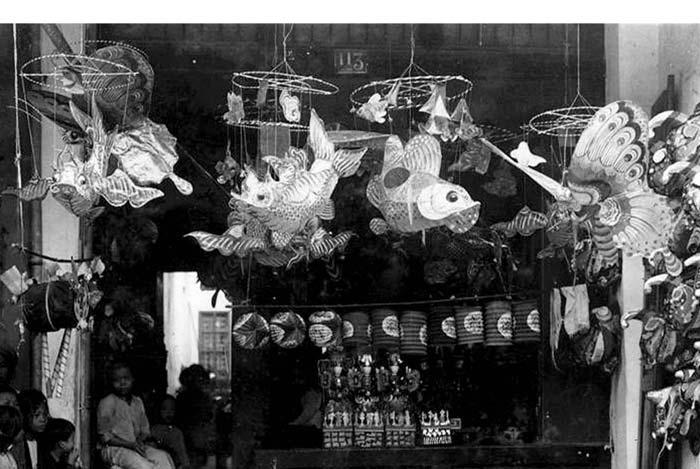 Đèn Trung Thu Hà Nội 1915 (Albert Kahn)