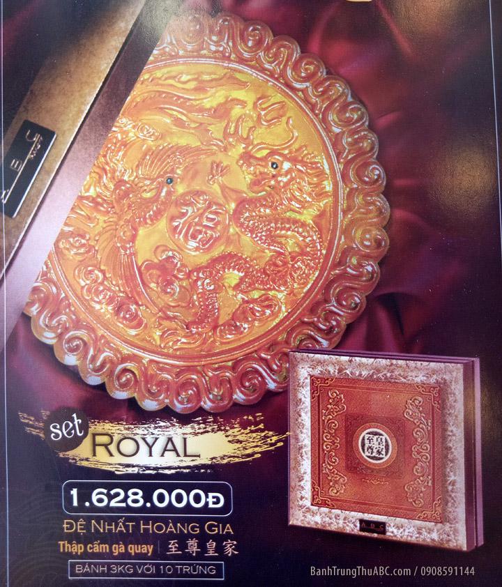 Bánh trung thu ABC Royal Set 3kg