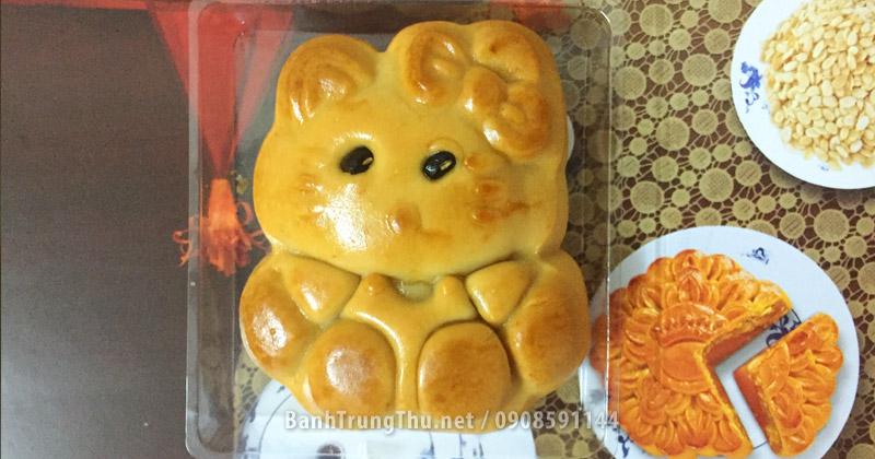 Bánh trung thu hình mèo Kitty của ABC Bakery