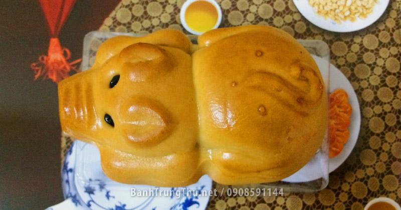 Bánh trung thu hình con heo con của ABC Bakery